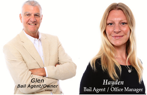 Glen and Hayden - Owners 5 Star Bail and Bond